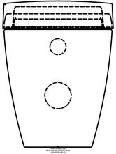 Sistem WC Geberit AquaClean Sela - vedere din spate GEBERIT