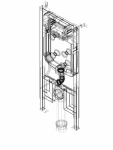 Element de instalare Geberit Duofix pentru WC suspendat 114 cm cu rezervor incastrat Sigma 8 cm