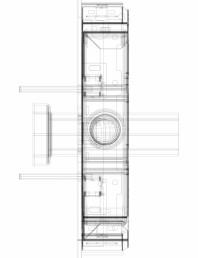 Modul sanitar Geberit Monolith pentru vas WC suspendat, 114 cm cod 131.031.SQ.5_P