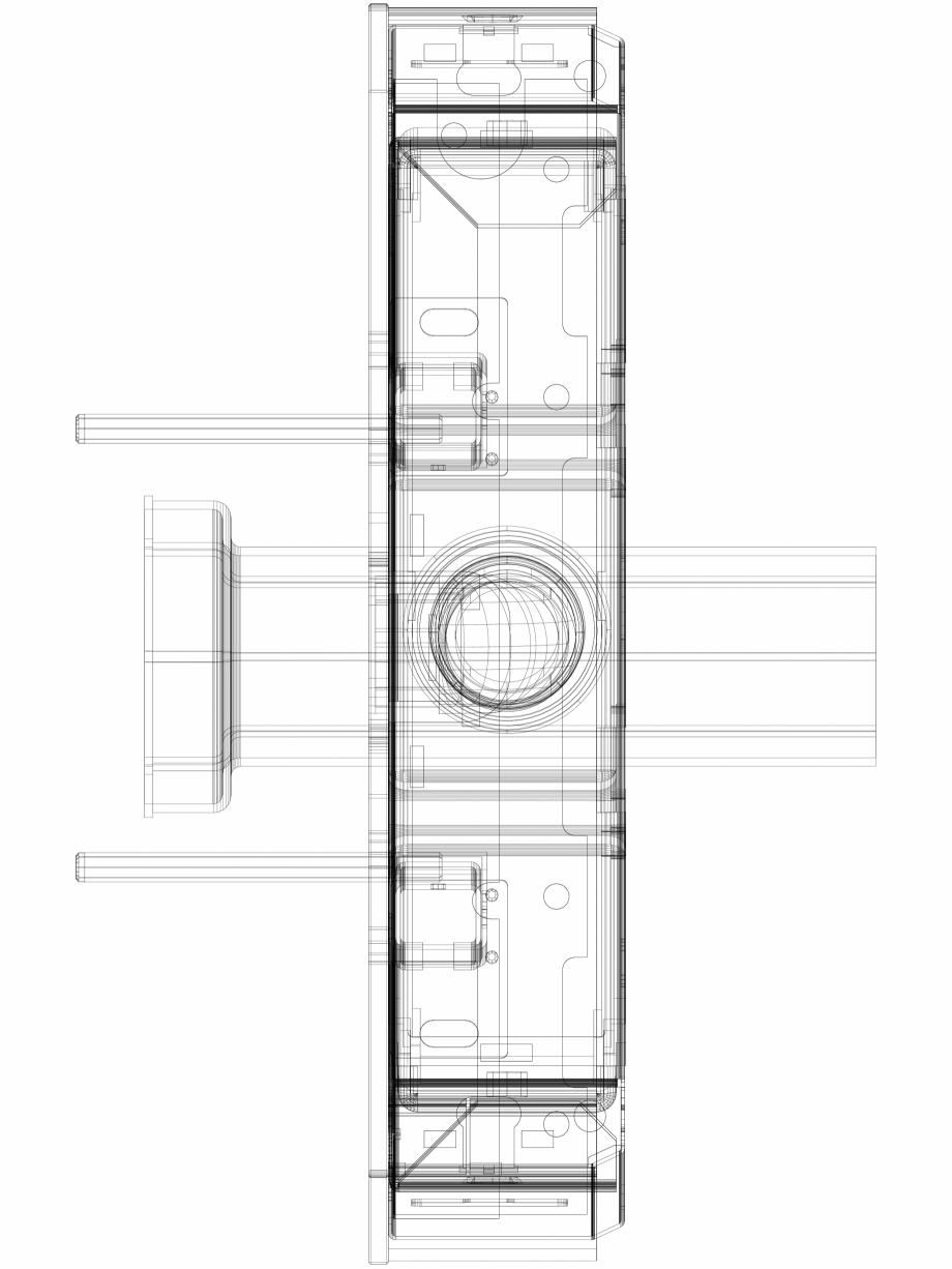 Pagina 1 - CAD-DWG Modul sanitar Geberit Monolith Plus pentru vas WC suspendat, 101 cm cod 131.221...