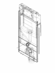 Element de instalare Geberit GIS pentru WC suspendat 114 cm cu rezervor incastrat Sigma 12 cm