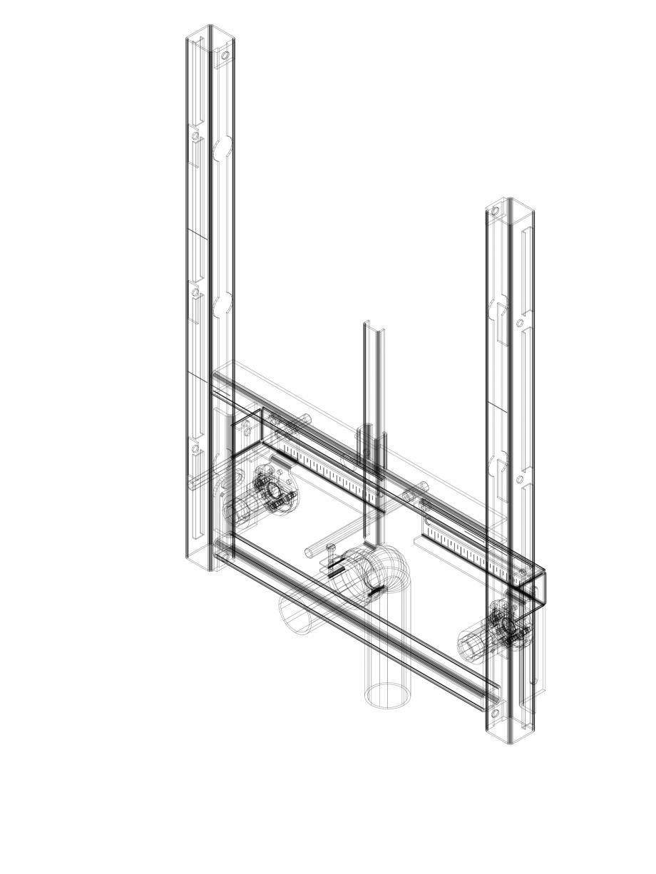 Pagina 1 - CAD-DWG Element de instalare Geberit GIS pentru bideu, universal cod 461.530.00.1_P...