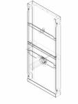 Element de instalare Geberit GIS pentru pisoar 114 cm universal pentru sistem de actionare sub presiune