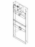 Element de instalare Geberit GIS pentru pisoar 114 cm universal cod 461 621 00 1_P GEBERIT