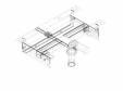Element de instalare Geberit Kombifix pentru bideu, universal cod 457.893.00.1_P GEBERIT -