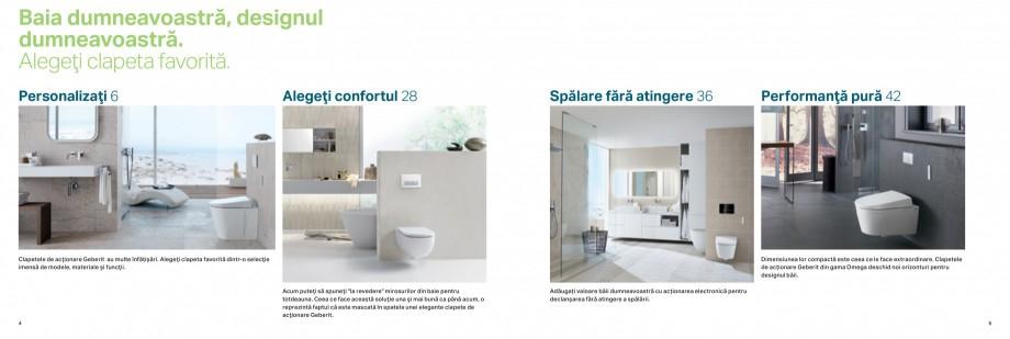 Pagina 3 - Clapete de actionare pentru WC Geberit GEBERIT AquaClean, DuoFresh, Kombifix, Duofix...