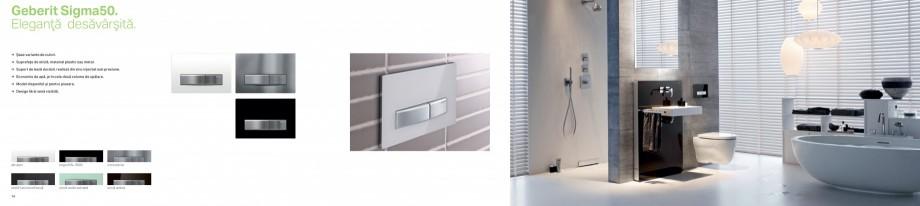 Pagina 8 - Clapete de actionare pentru WC Geberit GEBERIT AquaClean, DuoFresh, Kombifix, Duofix...