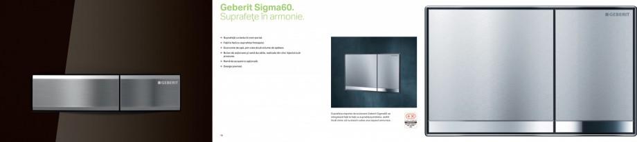Pagina 9 - Clapete de actionare pentru WC Geberit GEBERIT AquaClean, DuoFresh, Kombifix, Duofix...