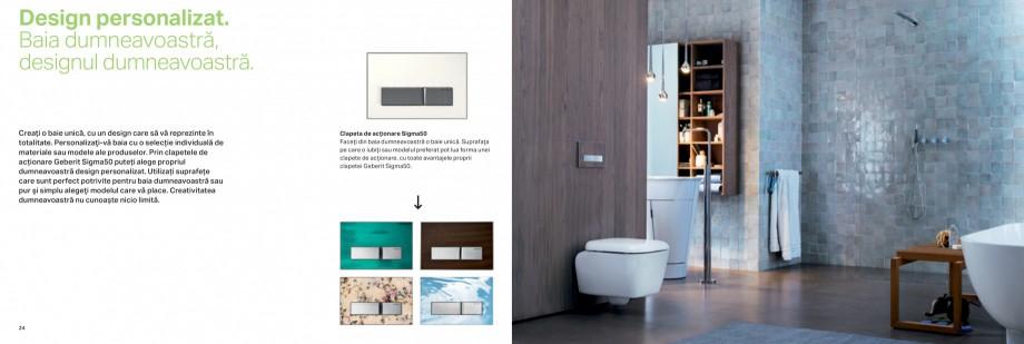 Pagina 13 - Clapete de actionare pentru WC Geberit GEBERIT AquaClean, DuoFresh, Kombifix, Duofix...