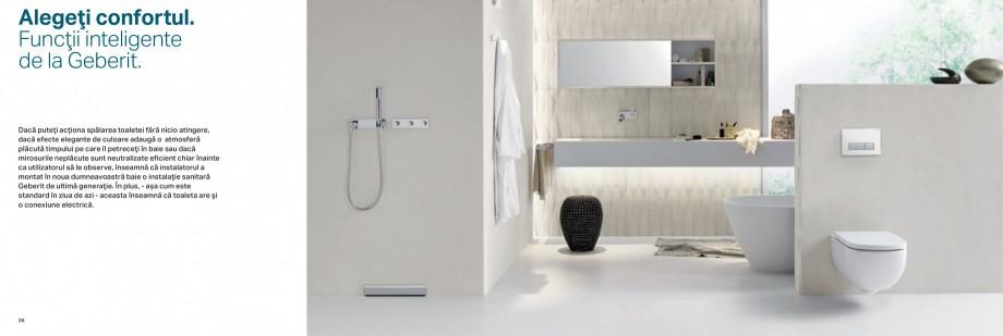 Pagina 14 - Clapete de actionare pentru WC Geberit GEBERIT AquaClean, DuoFresh, Kombifix, Duofix...