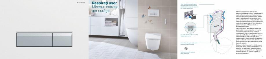 Pagina 16 - Clapete de actionare pentru WC Geberit GEBERIT AquaClean, DuoFresh, Kombifix, Duofix...