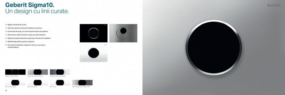 Pagina 18 - Clapete de actionare pentru WC Geberit GEBERIT AquaClean, DuoFresh, Kombifix, Duofix...