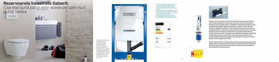 Pagina 24 - Clapete de actionare pentru WC Geberit GEBERIT AquaClean, DuoFresh, Kombifix, Duofix...
