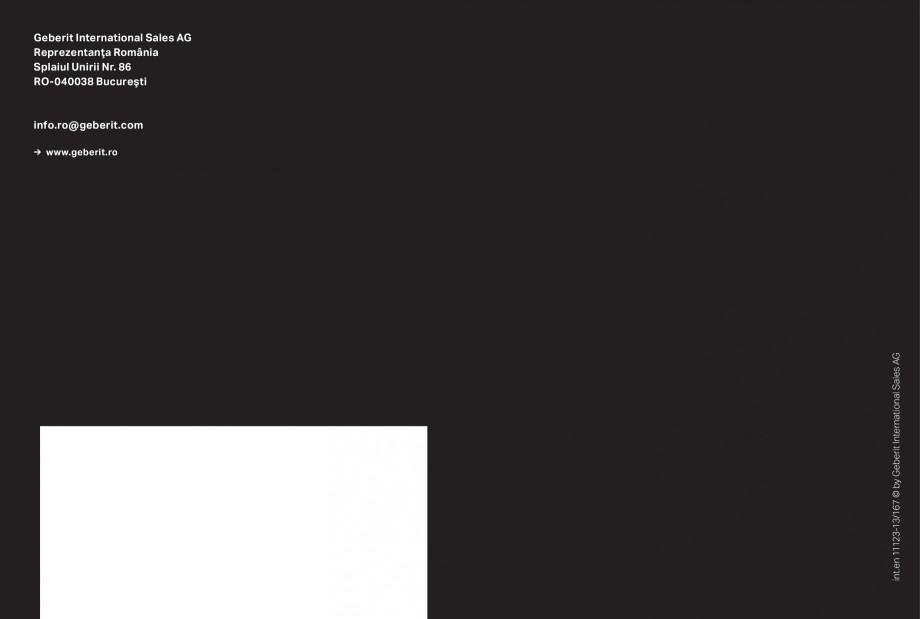 Pagina 27 - Clapete de actionare pentru WC Geberit GEBERIT AquaClean, DuoFresh, Kombifix, Duofix...