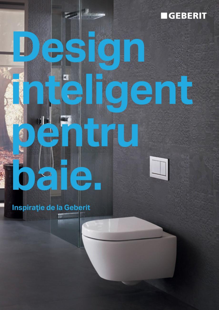 Pagina 1 - Design inteligent pentru baie Geberit GEBERIT AquaClean, DuoFresh, Monolith Catalog,...