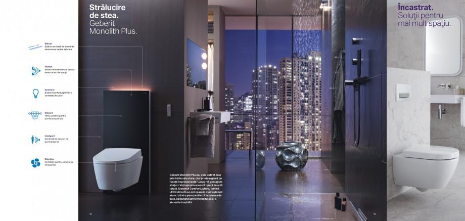 Pagina 7 - Design inteligent pentru baie Geberit GEBERIT AquaClean, DuoFresh, Monolith Catalog,...