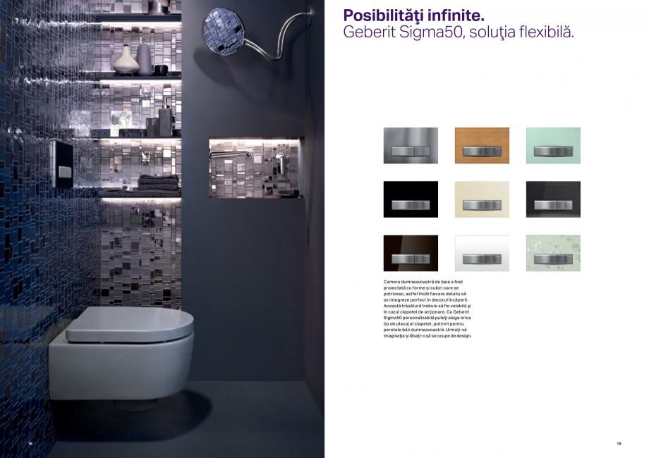 Pagina 10 - Design inteligent pentru baie Geberit GEBERIT AquaClean, DuoFresh, Monolith Catalog,...