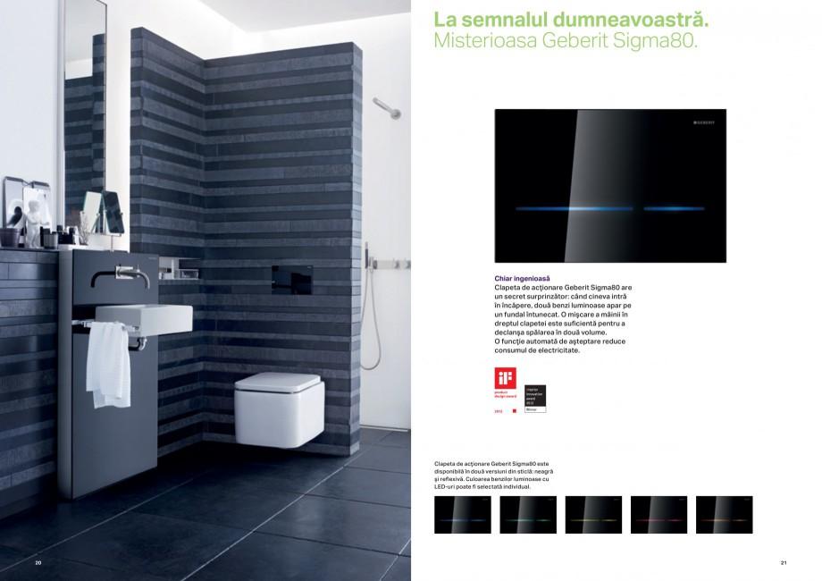 Pagina 11 - Design inteligent pentru baie Geberit GEBERIT AquaClean, DuoFresh, Monolith Catalog,...