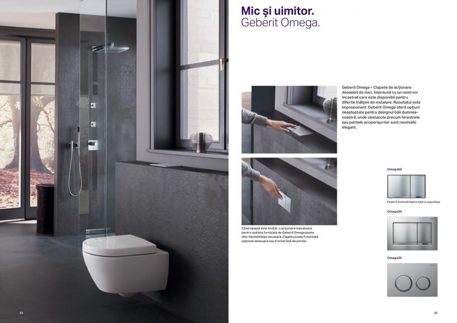 Pagina 12 - Design inteligent pentru baie Geberit GEBERIT AquaClean, DuoFresh, Monolith Catalog,...