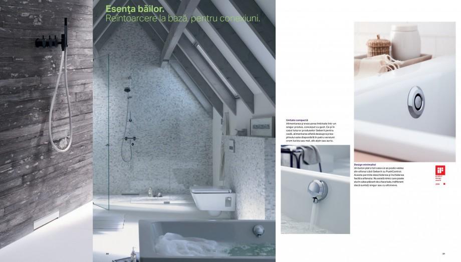 Pagina 16 - Design inteligent pentru baie Geberit GEBERIT AquaClean, DuoFresh, Monolith Catalog,...