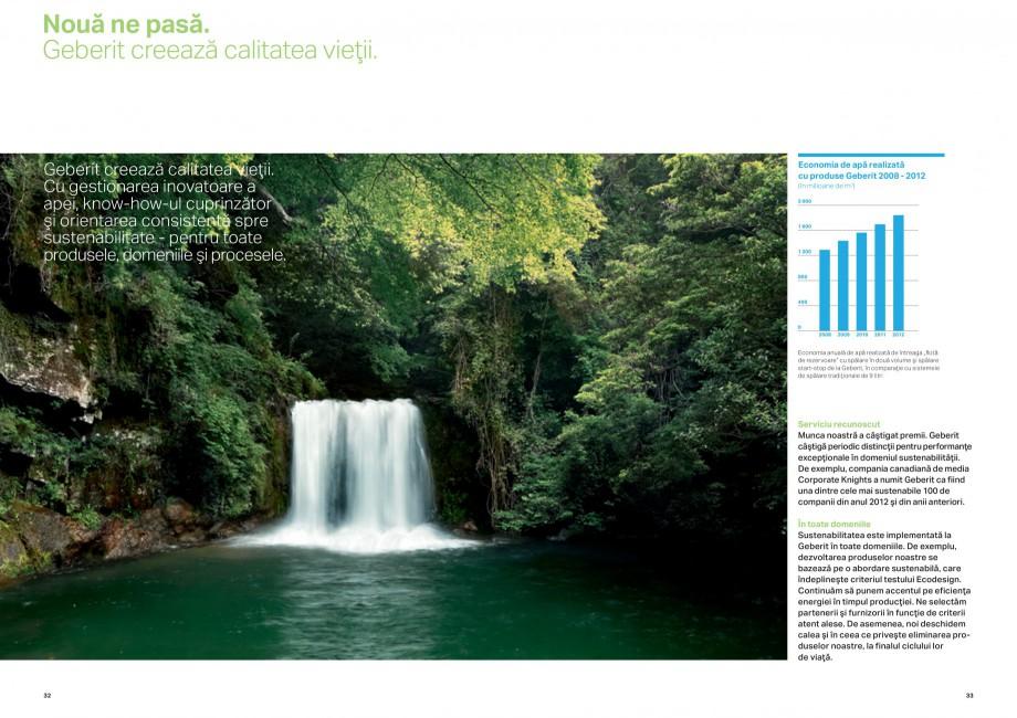 Pagina 17 - Design inteligent pentru baie Geberit GEBERIT AquaClean, DuoFresh, Monolith Catalog,...