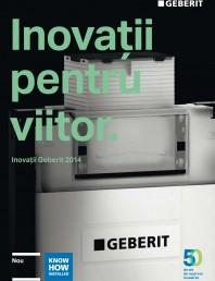 Inovatii pentru viitor Geberit