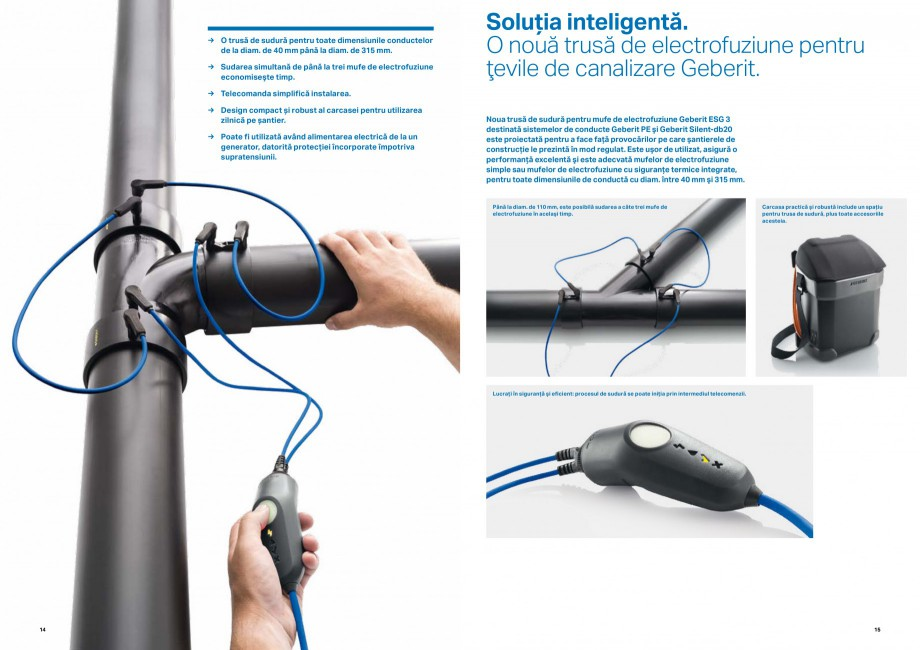 Pagina 8 - Inovatii pentru viitor Geberit GEBERIT Duofix, Kombifix, Monolith, AquaClean Catalog,...