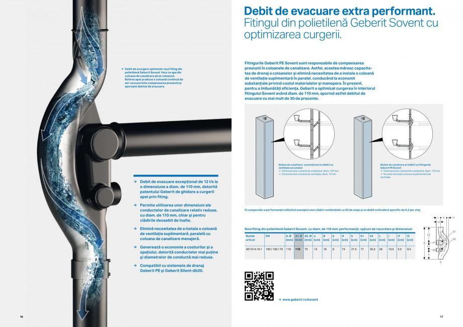 Pagina 9 - Inovatii pentru viitor Geberit GEBERIT Duofix, Kombifix, Monolith, AquaClean Catalog,...