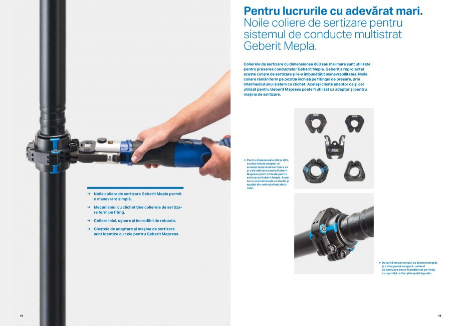 Pagina 10 - Inovatii pentru viitor Geberit GEBERIT Duofix, Kombifix, Monolith, AquaClean Catalog,...