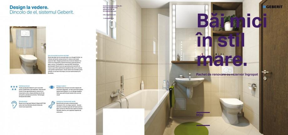 Pagina 1 - Pachet de renovare cu rezervor ingropat Geberit GEBERIT Duofix, DuoFresh, Kombifix...