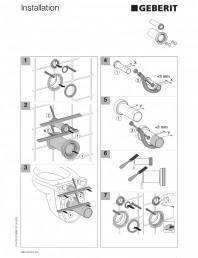 Sistem WC - schema de instalare