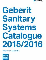 Sisteme sanitare Geberit 2015-2016
