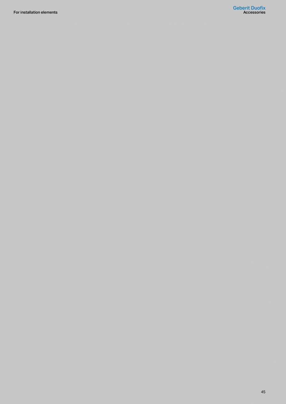 Pagina 45 - Sisteme sanitare Geberit 2015-2016 GEBERIT Kombifix, Duofix, DuoFresh, Monolith,...