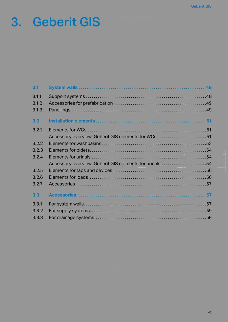 Pagina 47 - Sisteme sanitare Geberit 2015-2016 GEBERIT Kombifix, Duofix, DuoFresh, Monolith,...