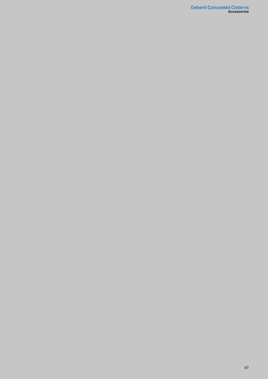 Pagina 67 - Sisteme sanitare Geberit 2015-2016 GEBERIT Kombifix, Duofix, DuoFresh, Monolith,...