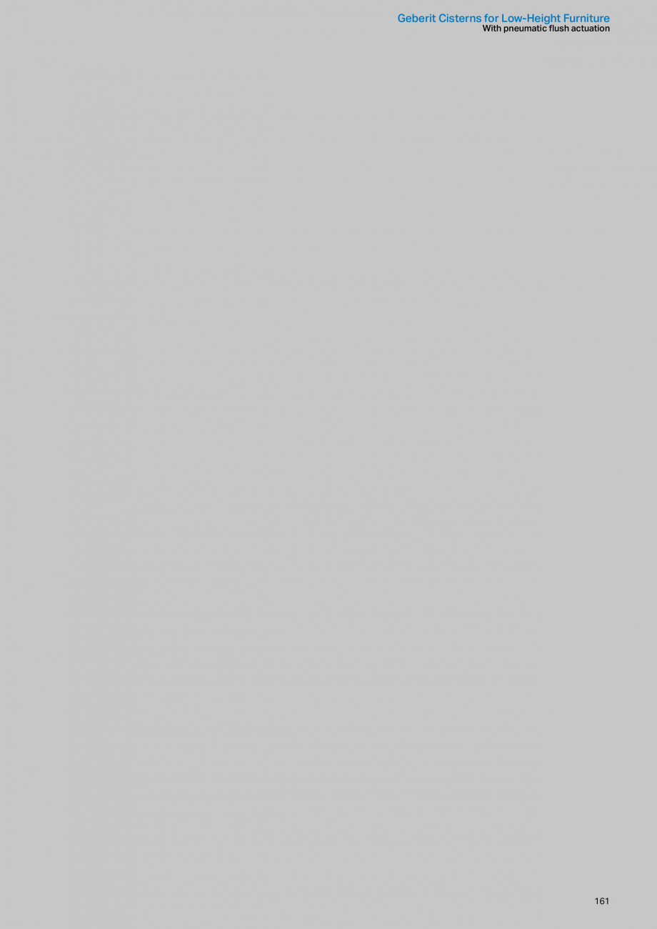 Pagina 161 - Sisteme sanitare Geberit 2015-2016 GEBERIT Kombifix, Duofix, DuoFresh, Monolith,...