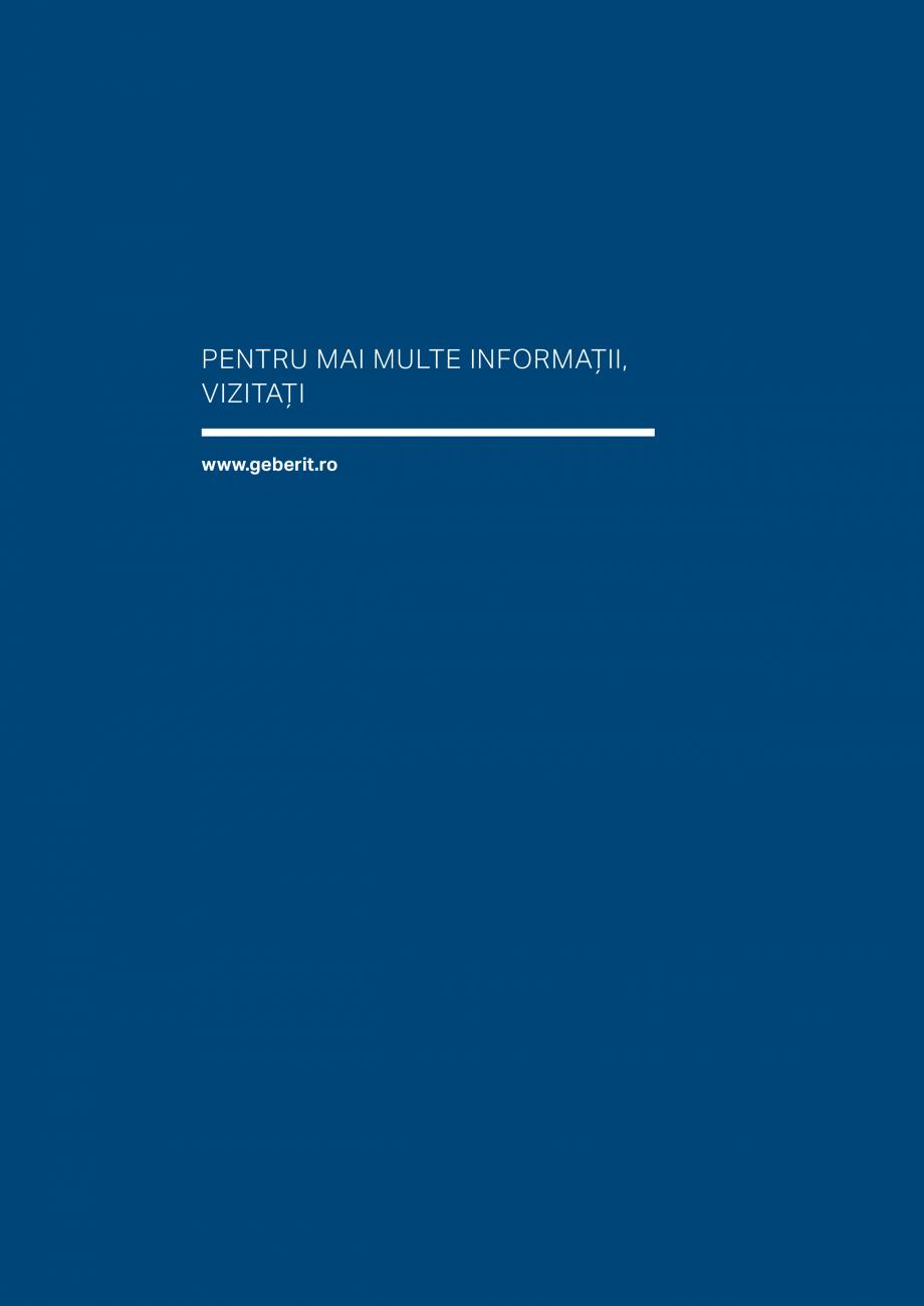 Pagina 43 - Geberit -Sisteme de instalare GEBERIT Kombifix, Duofix, DuoFresh, Monolith, AquaClean...