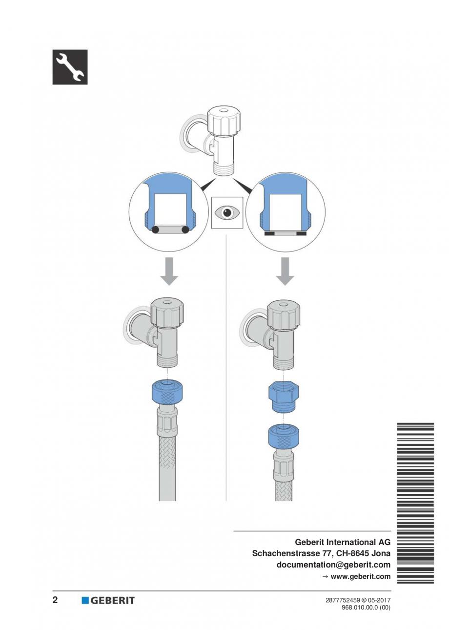 Pagina 2 - Instructiuni pentru instalarea modului sanitar GEBERIT Monolith Instructiuni montaj,...
