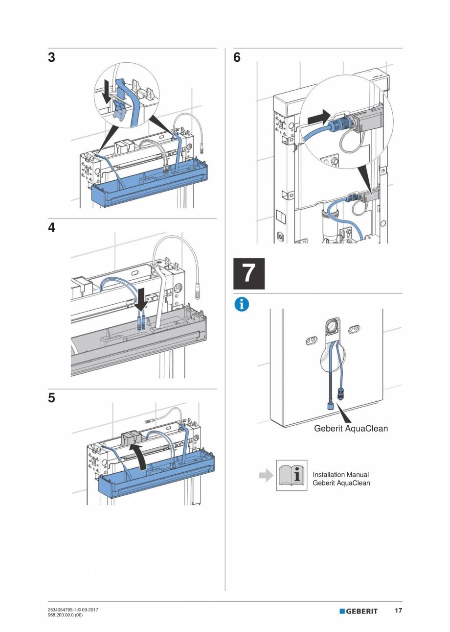 Pagina 17 - Instructiuni de instalare pentru modulul sanitar Monolith Plus GEBERIT Monolith...