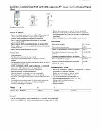 Element de instalare Geberit GIS pentru WC suspendat, 114 cm, cu rezervor incastrat Sigma 12 cm