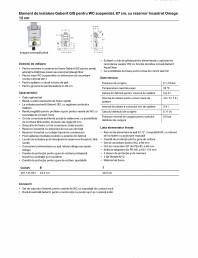 Element de instalare Geberit GIS pentru WC suspendat, 87 cm, cu rezervor incastrat Omega 12 cm