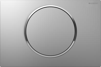 Clapete de actionare Sigma / Clapeta Geberit Sigma10 crom mat