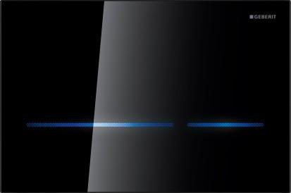 Clapete de actionare Sigma / Clapeta touchless Geberit Sigma80 negru