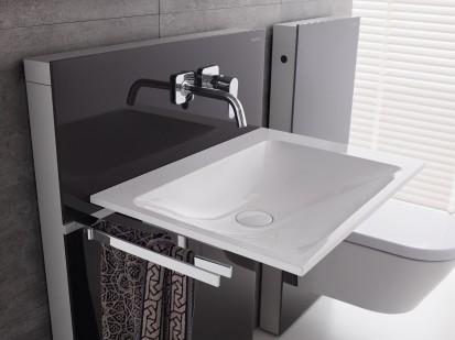 Sistem WC / Geberit Monolith pentru lavoar si WC