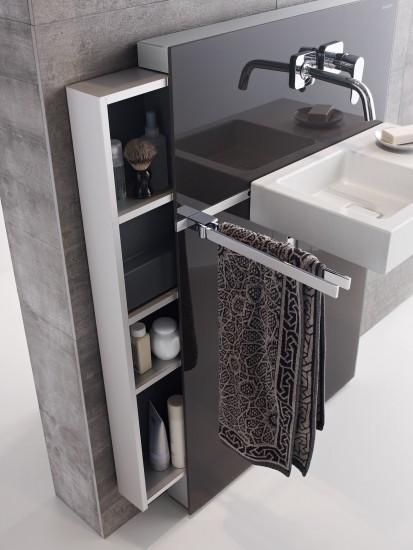Sistem WC / Geberit Monolith pentru lavoar