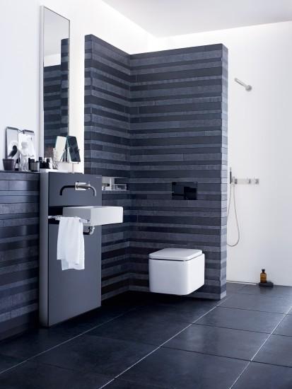 Sistem WC / Geberit Monolith pentru WC si lavoar, clapeta Sigma80