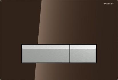 Sistem WC / Clapeta Geberit Sigma40 compatibila cu sistemul DuoFresh