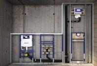 Sisteme de montaj incastrate pentru vase WC, pisoare, bideuri si lavoare