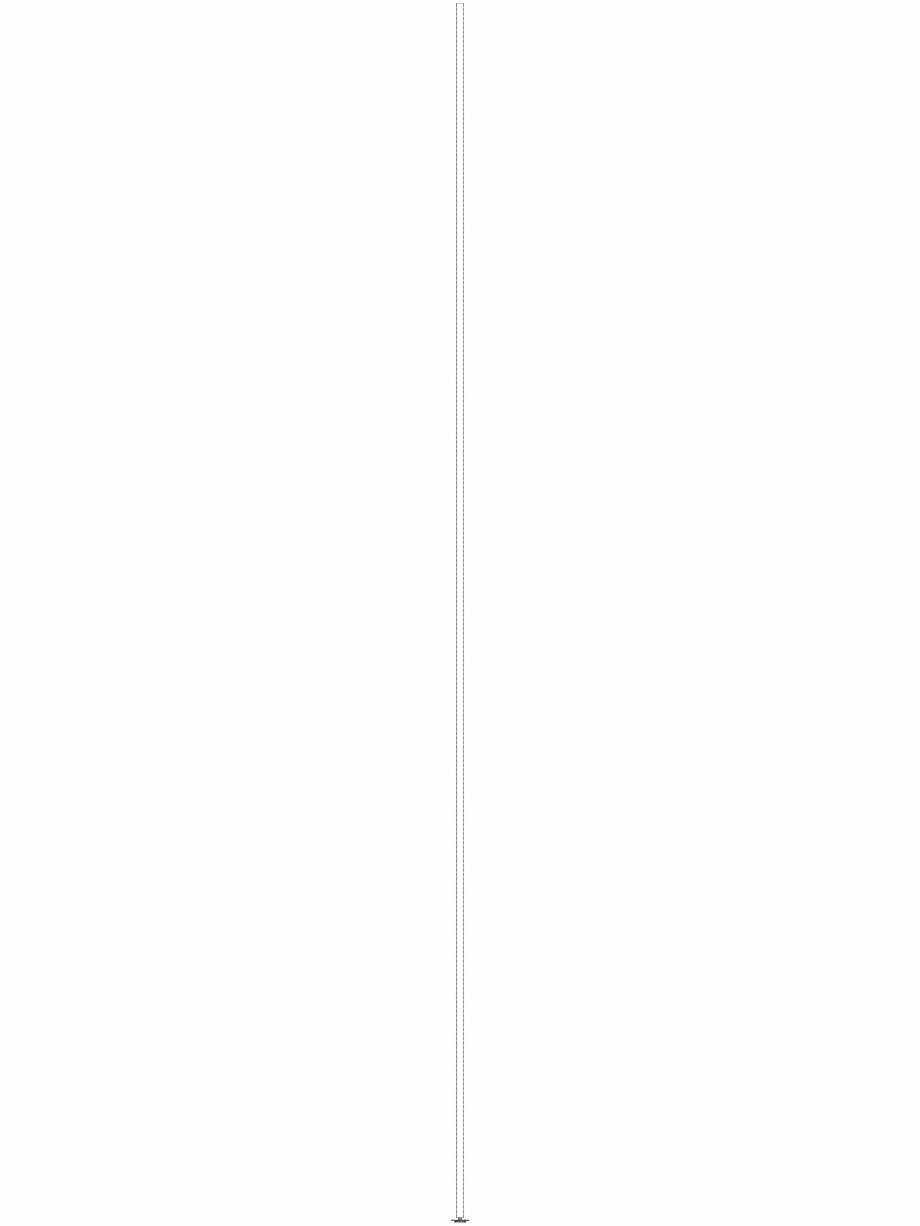 Pagina 1 - CAD-DWG Bara suport Geberit Pluvia cod 362.863.26.1_A GEBERIT Detaliu de produs Geberit...