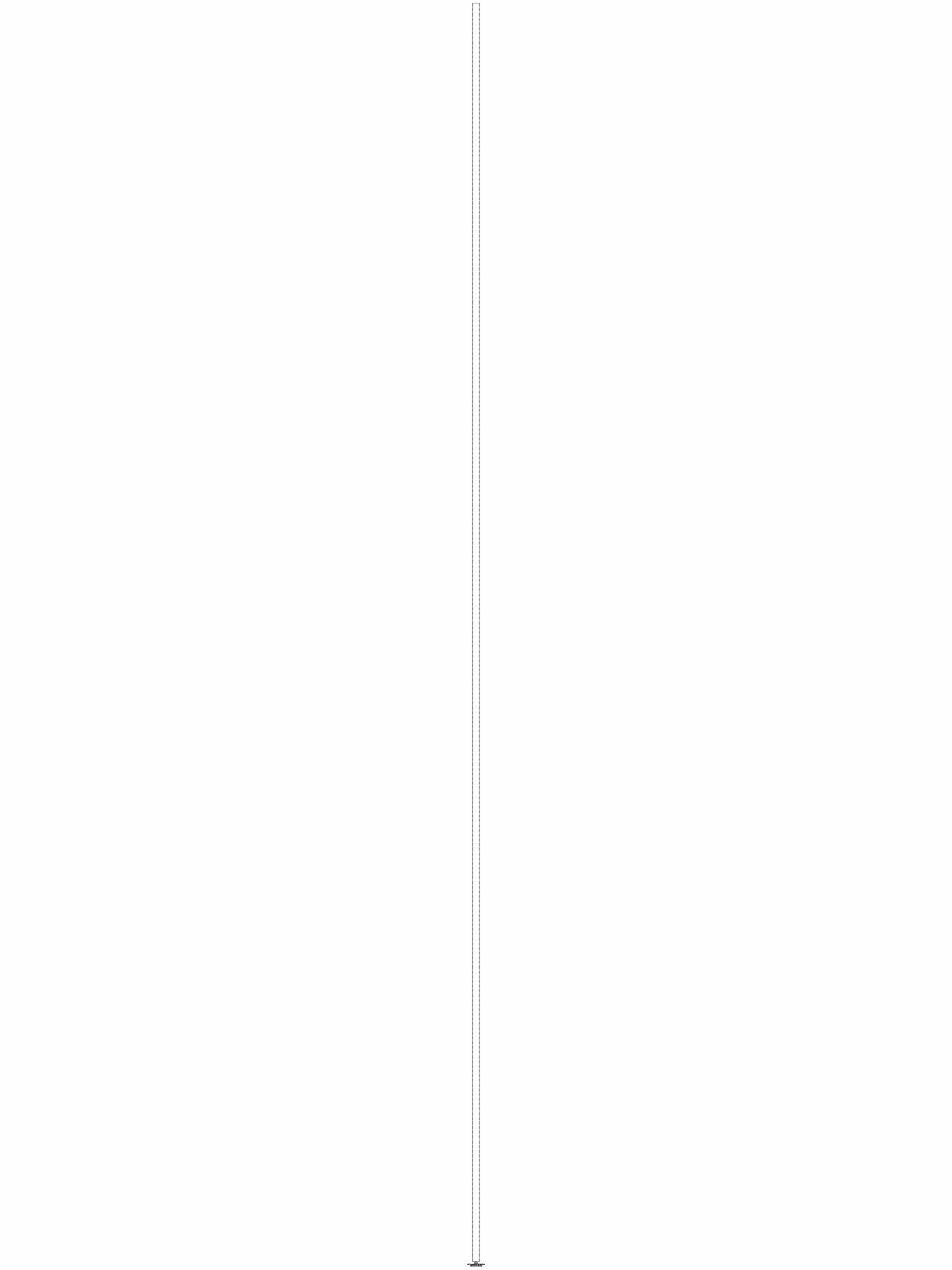 Pagina 1 - CAD-DWG Bara suport Geberit Pluvia cod 362.863.26.1_L GEBERIT Detaliu de produs